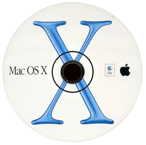 OS X installation disc