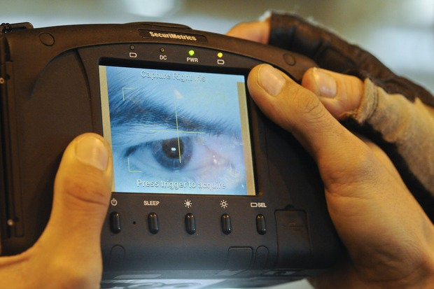 Iris Scanner Biometrics