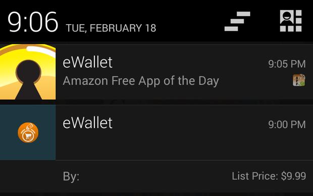 amazon appstore notifier