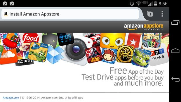 amazon appstore web