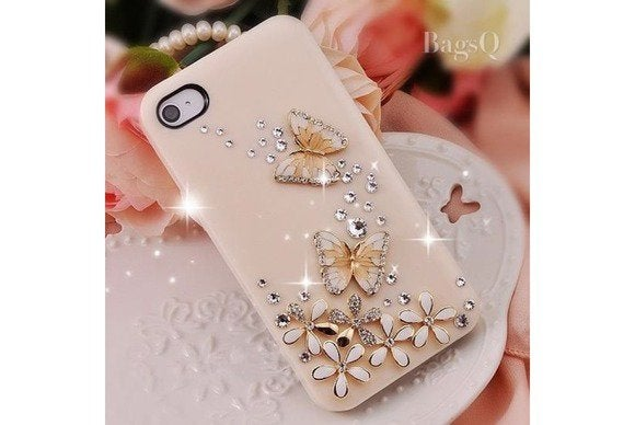 bagsq diamondbutterfly iphone