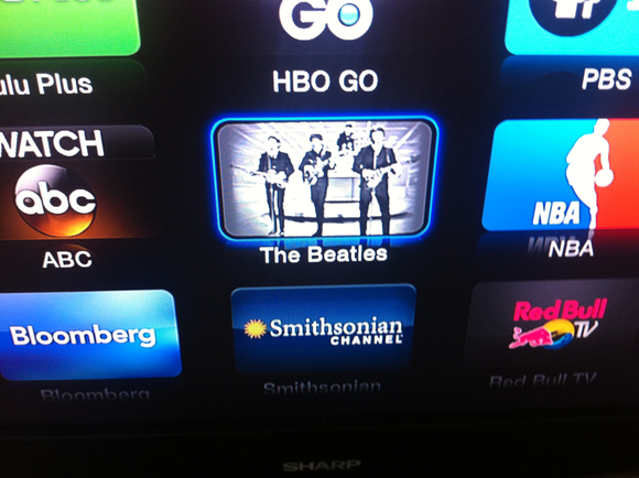 beatles appletv home