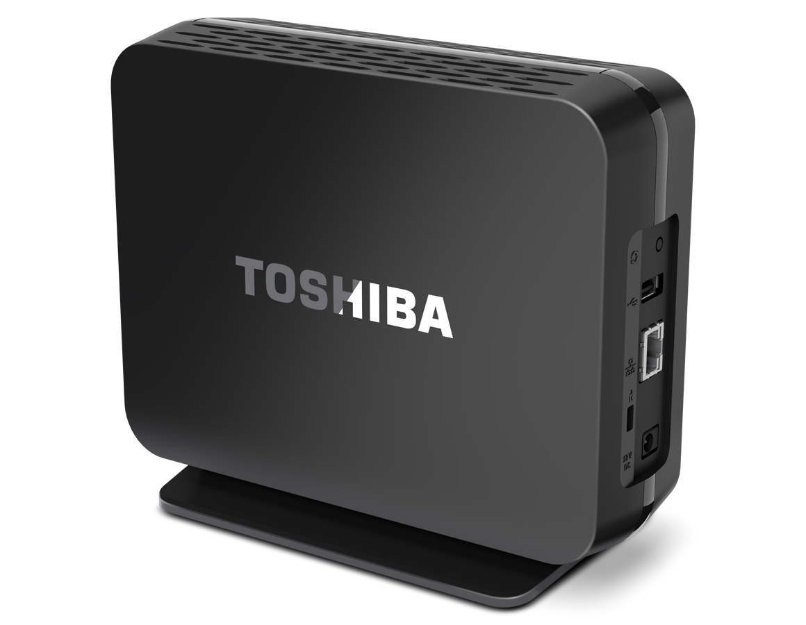 Toshiba announces new network storage device for consumers
