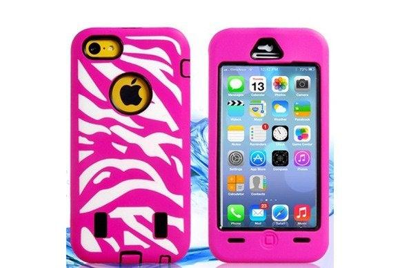 caseemall stripedsilicone phone