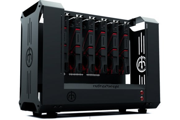 Meet Dopamine The 6 Gpu Case Designed For Bitcoin Miners