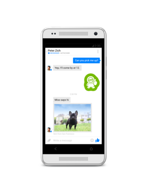 facebook messenger conversation