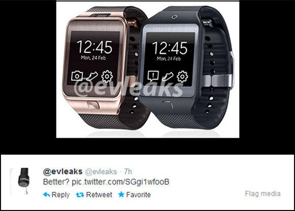 galaxy gear evleaks