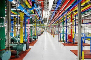 google data center douglas county color coded pipes
