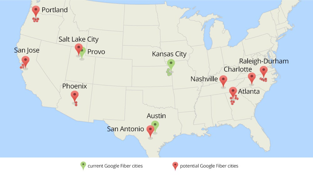 Google fiber contest opens up to 34 more cities including san google fiber contest opens up to 34 more cities including san francisco bay area pcworld gumiabroncs Choice Image