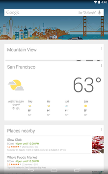 googlenow launcher