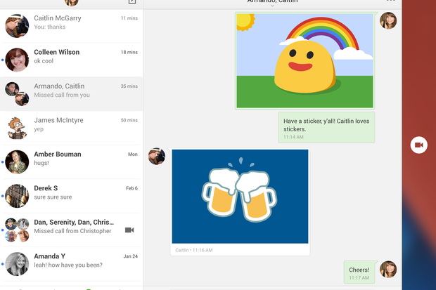 Get To Know The New Google Hangouts For Ios Pcworld