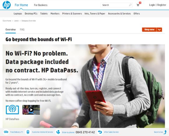 Hewlett-Packard DataPass