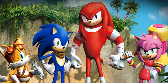knuckles sonic boom