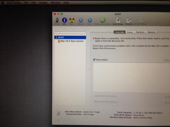 macbookair diskutility