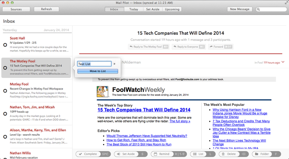 Mail Pilot for Mac