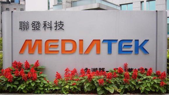 mediatek logo building