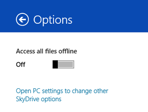 metro skydrive options