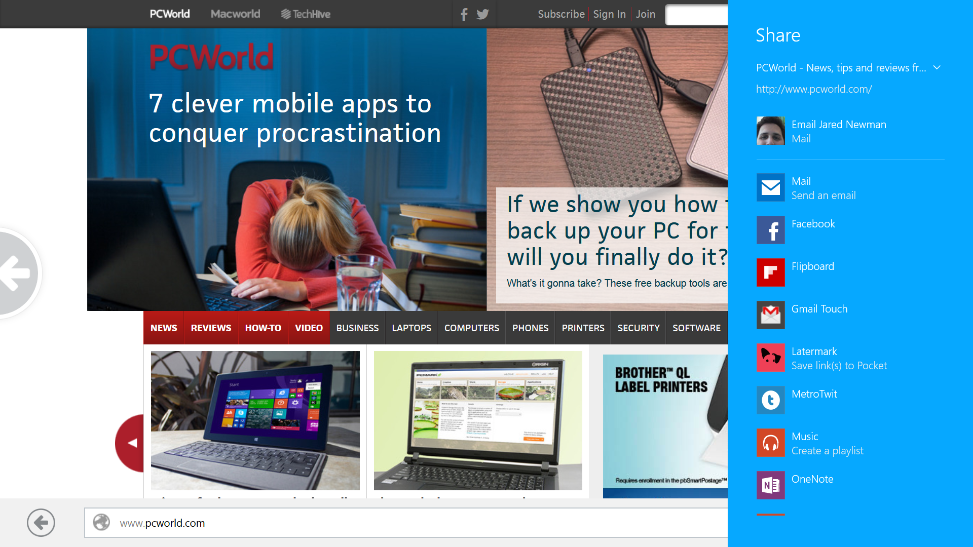 Hands-on with Mozilla's long-delayed Metro Firefox app ...