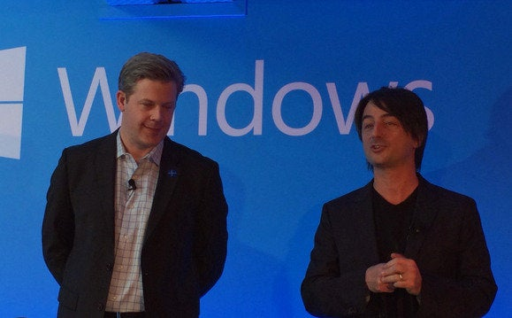 mwc 2014 microsoft event joe belfiore nick parker cropped