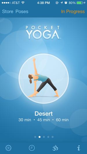 pocket yoga home