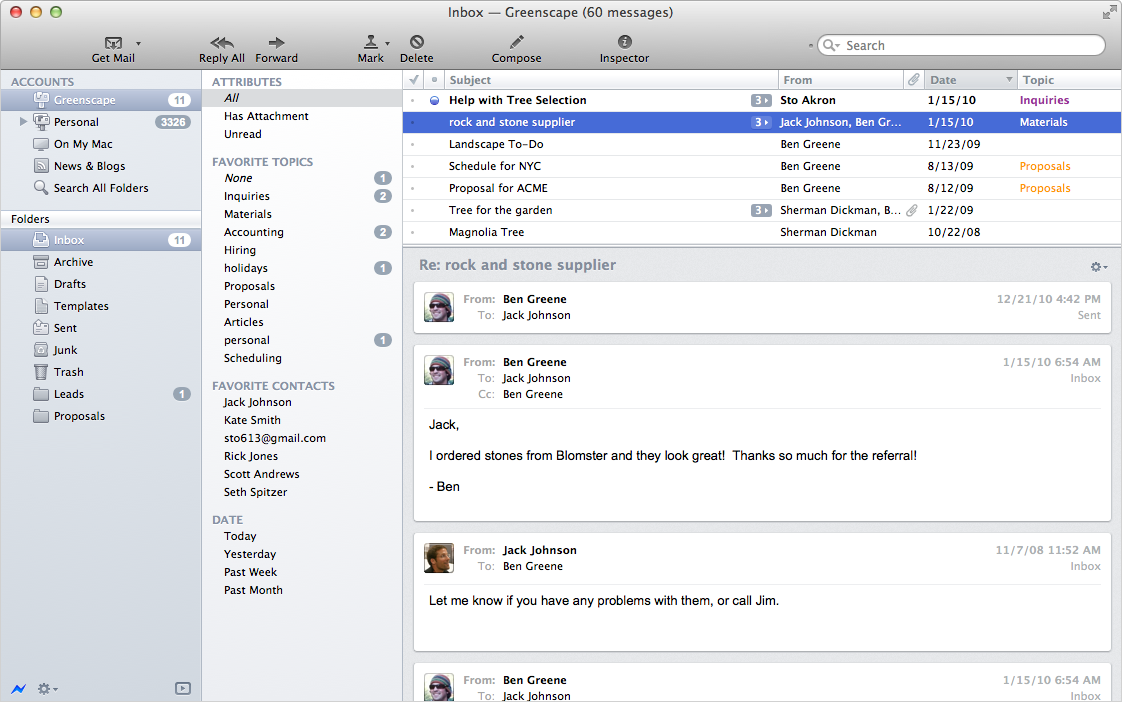 Which mail app for the Mac is the best?