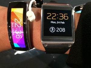 samsung galaxy gear 2 fit plus old gg  mwc jan 2014