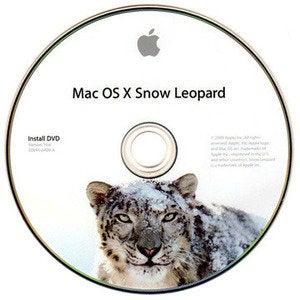 OS X Snow Leopard install disc