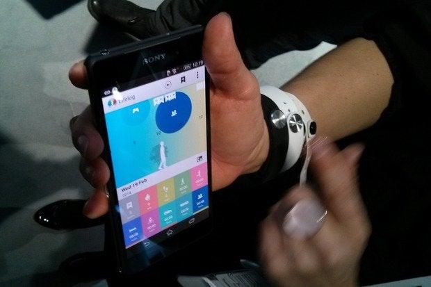 SmartBand and Lifelog