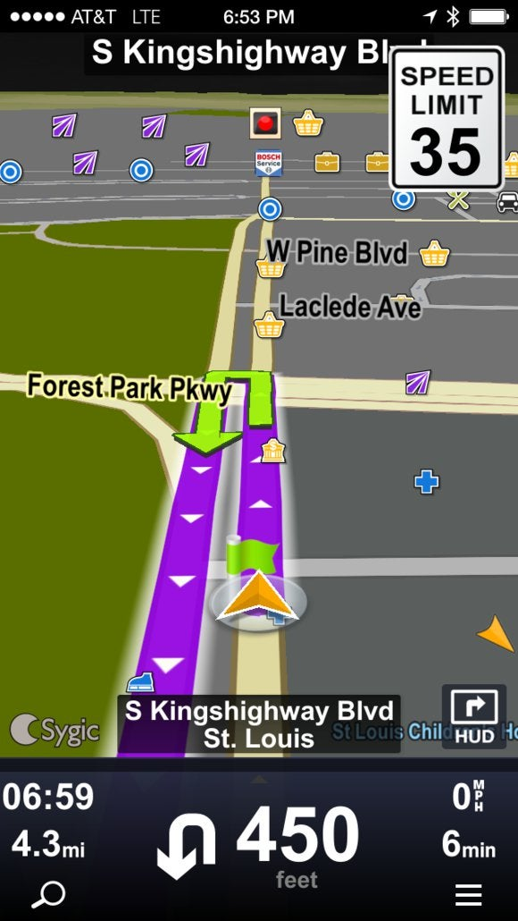 sygic gps navigation phone app jan 2014