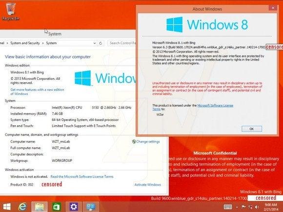 windows 8.1 with bing 2