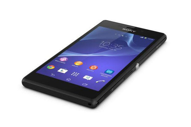 xperia m2 black tabletop