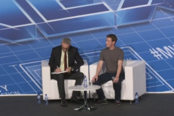 zuckerberg keynote paper tablet mwc