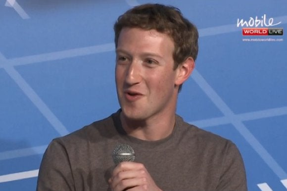 zuckerberg smiles mwc