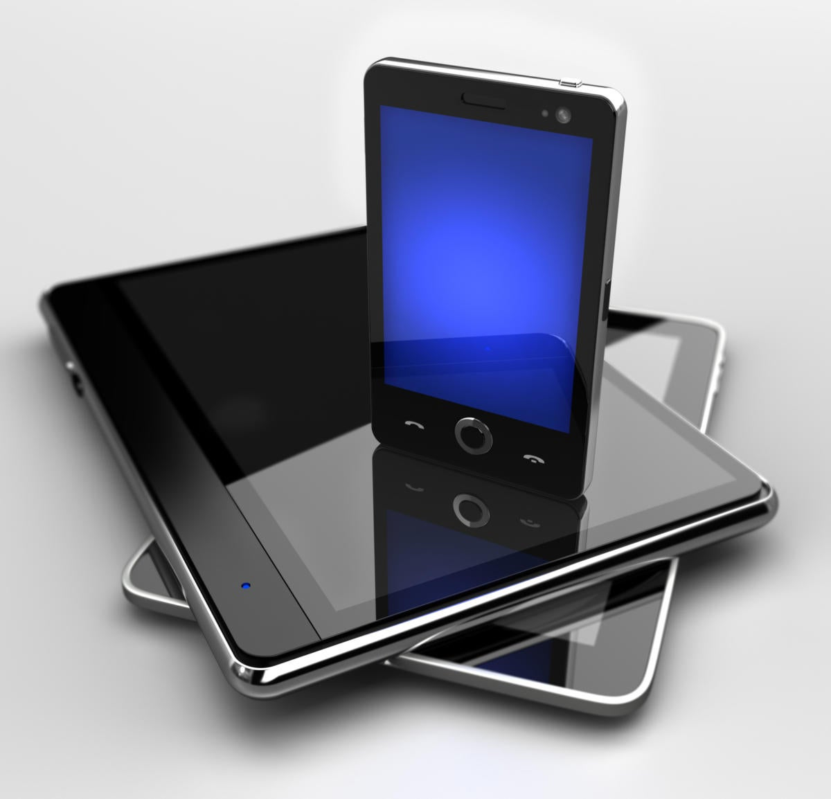 Smartphone and tablets