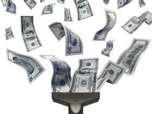 Hoovering money