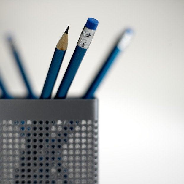 Pencils in pot close up    200413331 001
