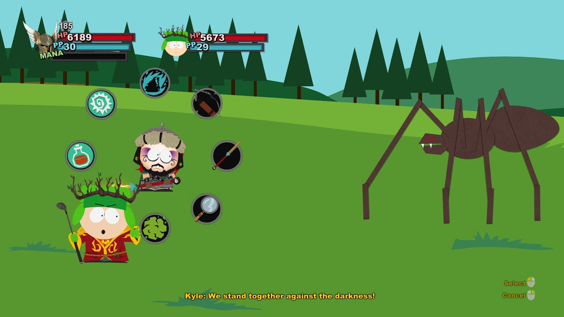 South Park The Stick Of Truth Review A True Game For