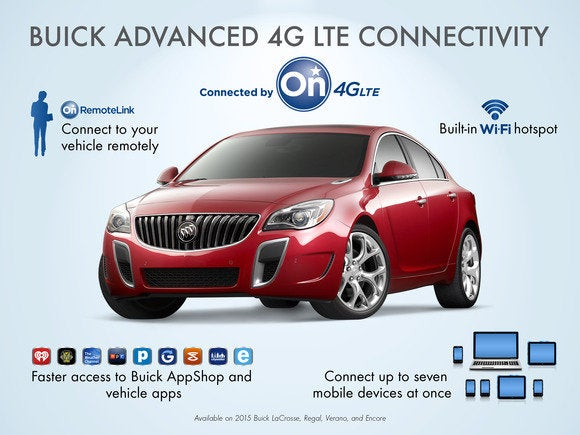 2014 buick regal 4g lte march 2014