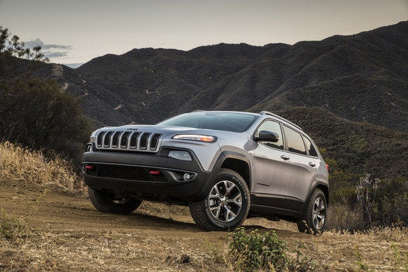 Snow Sand Mud Rocks The 2014 Jeep Cherokee Trailhawk Has A