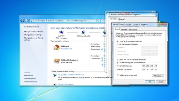 4 change dns servers in windows