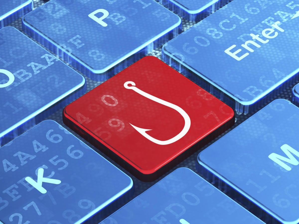 Phishing key