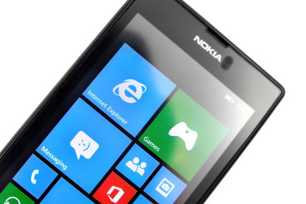 Nokia Lumia 520 with Windows Phone 8