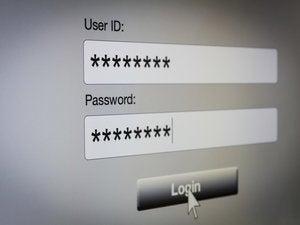 User ID Password login