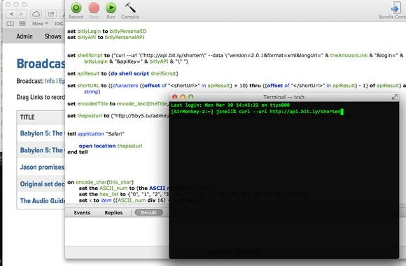 Bad AppleScript: Safari and curling URLs | Macworld
