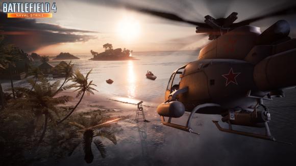 battlefield 4 naval strike heli wm