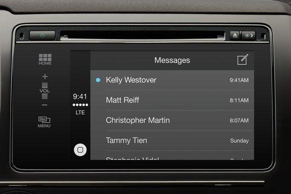 carplay messages