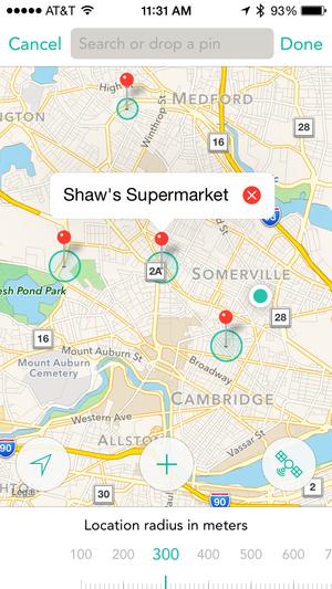 checkmark locationgroups