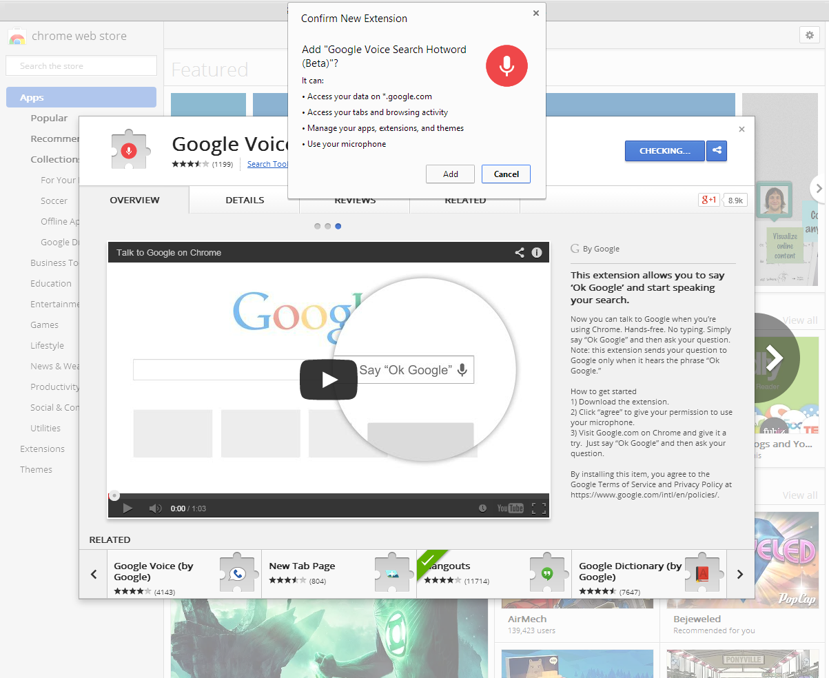 How to use Chrome's coming voice search feature today | PCWorld