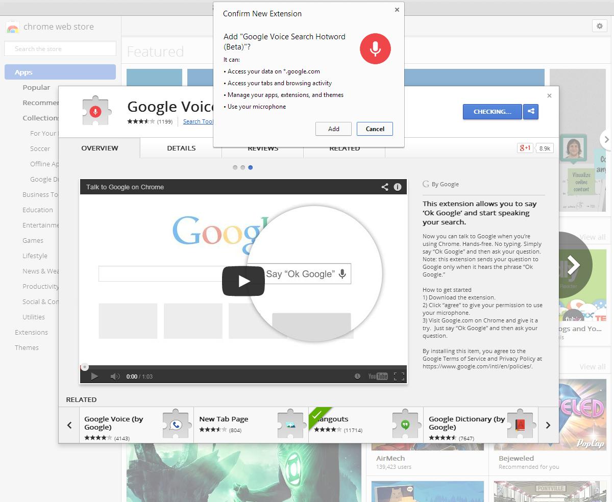 Google themes today - Chromewebstore