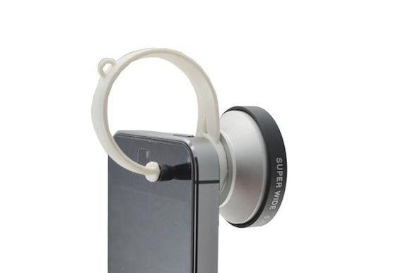clip on super wide lens iphone ipad phone